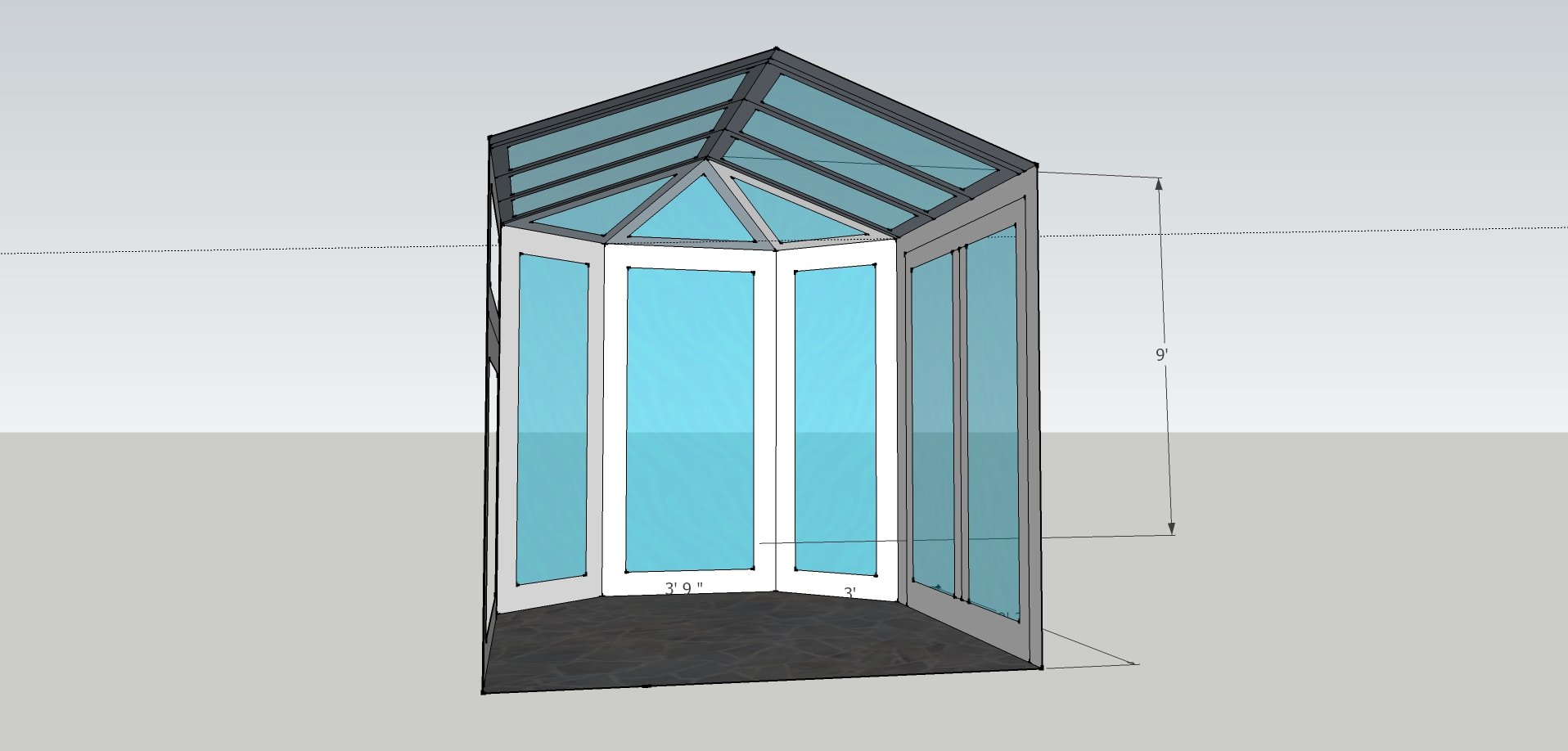 sunroom model inside